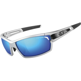 Tifosi Camrock Glasses silver/black - clarion blue/AC red/clear